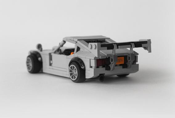 Lego Nissan 240Z Drift
