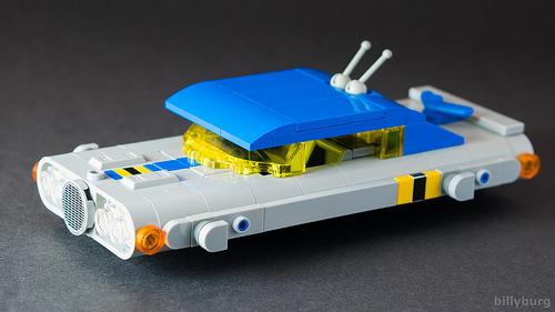 Lego Retro Hovercar