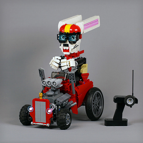 Lego Easter Bunny Hot Rod