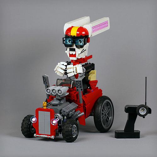 Lego Easter Bunny Hot Rod
