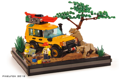 Lego Land Rover Discovery