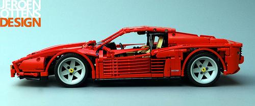 Lego Technic Ferrari Testa Rossa