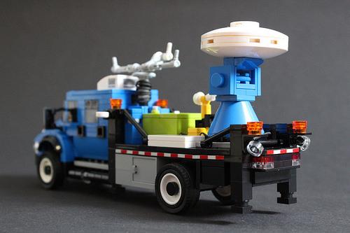 Lego International Workstar 7500 DOW Truck