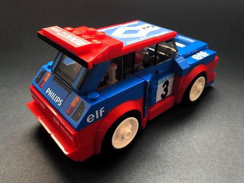 Lego Renault 5 Maxi Turbo