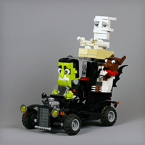 Lego RC Monster Hot Rod