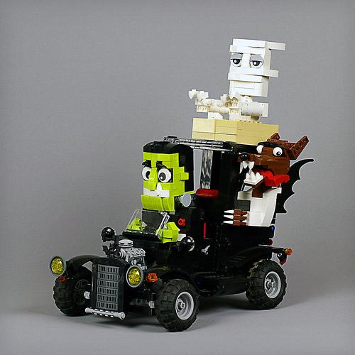 Lego RC Monster Hot Rod