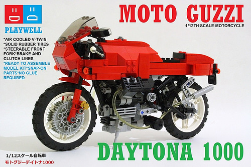 Lego Moto Guzzi Daytona 1000 Motorcycle