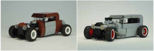 Lego Rat Rods