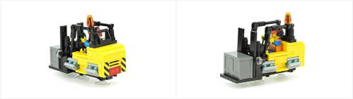 Lego Hover Forklift