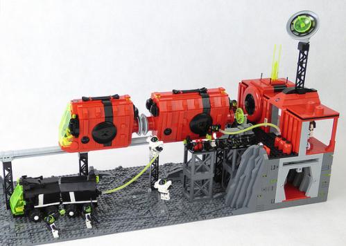 Lego M-Tron Monorail