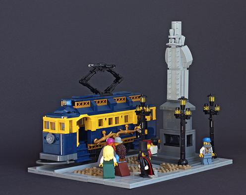 Lego Tram
