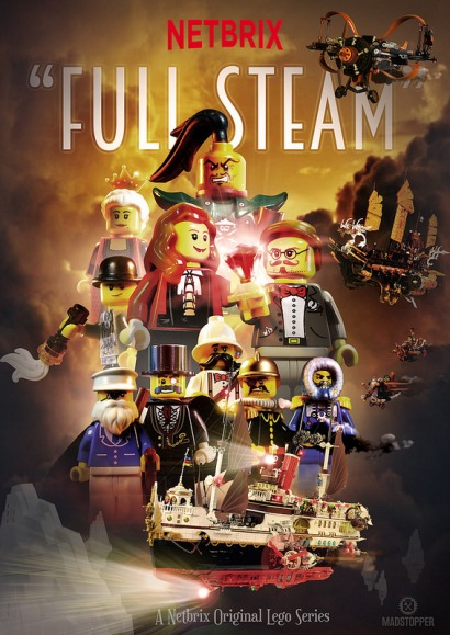 Lego Netbrix Full Steam Poster