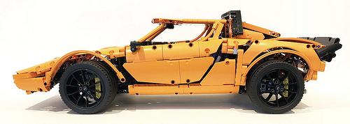 Lego Technic 42056 B-Model Lancia Stratos