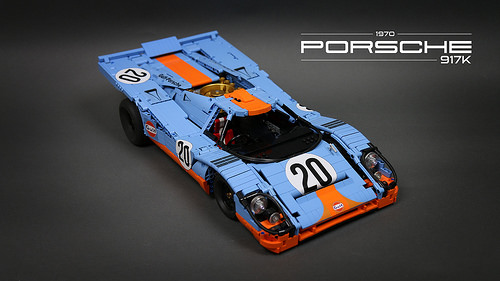 Lego Technic Porsche 917K Le Mans 1970