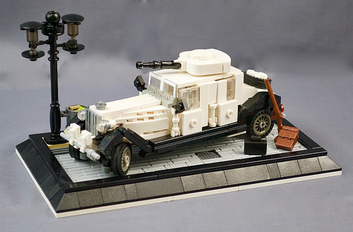 Lego Rolls Royce Armoured Car