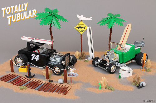 Lego Surfer Hot Rods