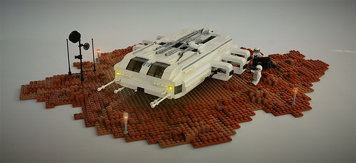 Lego Mars Shuttle