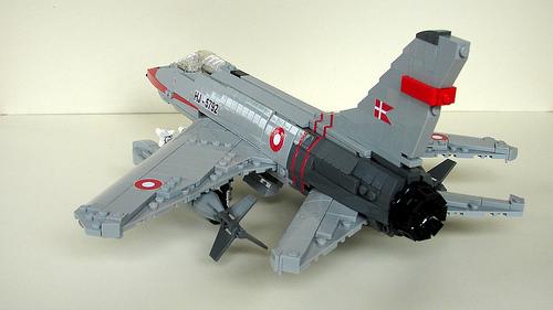 Lego North American F-100D Super Sabre