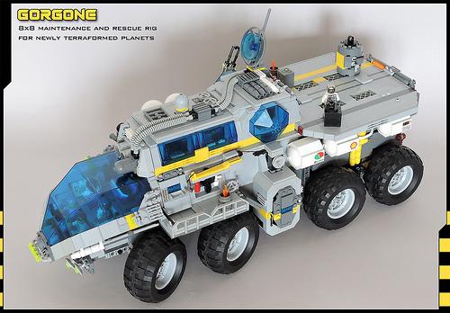 Lego Sci-Fi 8x8