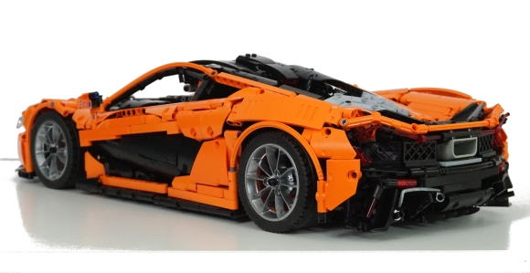 lego technic mclaren p1 the lego car blog. Black Bedroom Furniture Sets. Home Design Ideas