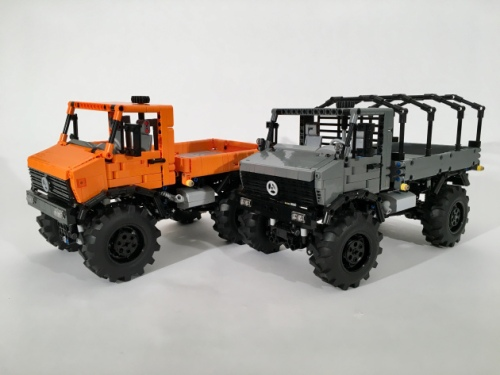 Unimog The Lego Car Blog
