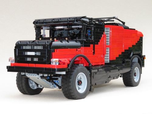 Lego Mammoet Dakar Truck