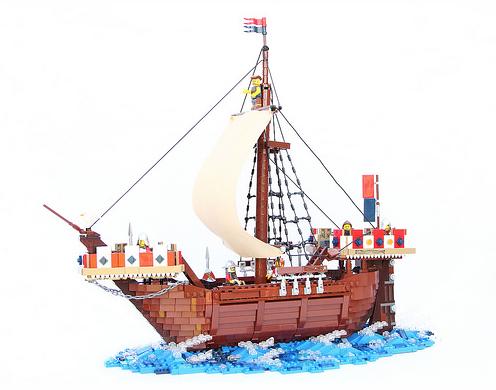 Lego Medieval Ship