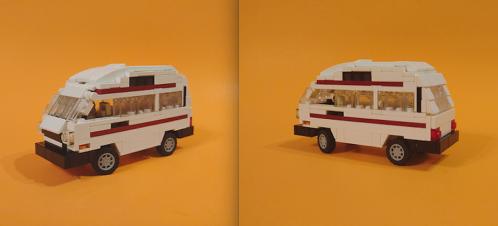 Lego Volkswagen Autosleeper Camper