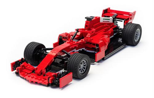 Lego 2018 Ferrari F1 The Lego Car Blog