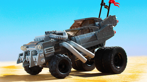Lego Mad Max Fury Road Gigahorse