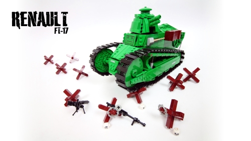 Lego Renault FT-17 Tank RC