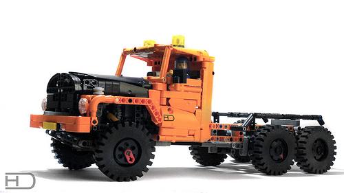 Lego Technic Tatra Truck Trial