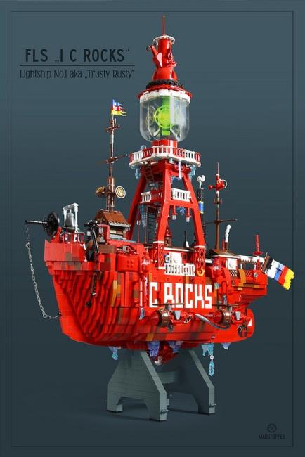 Lego Lightship