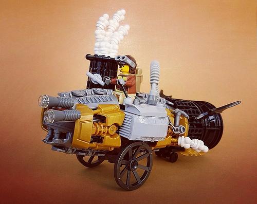 Lego Steampunk Car