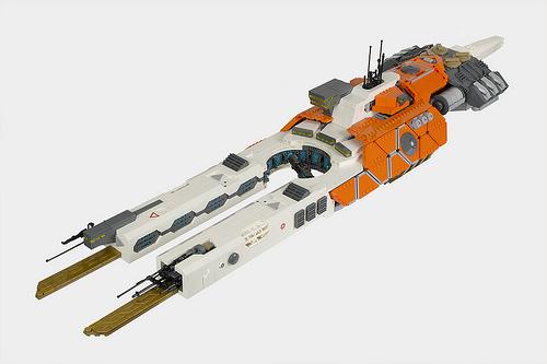 Lego SHIPtember Spaceship