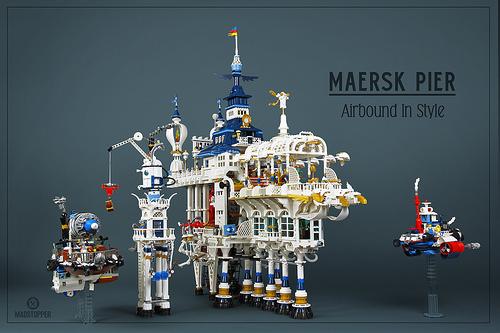 Lego Sky-Fi Bar
