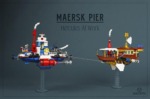 Lego Sky-Fi Airship