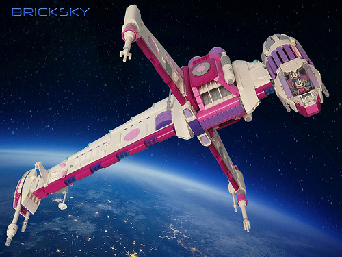 Lego Friends Star Wars B-Wing