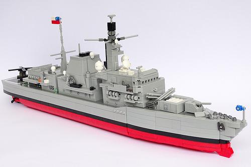 Lego Type 23 Frigate