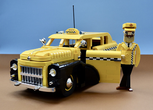 Lego New York Taxi