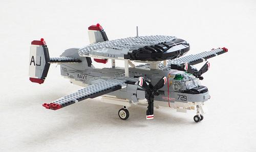 Lego Grumman E-1B Tracer