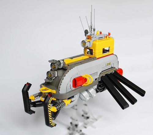 Lego Sci-Fi Airport Service