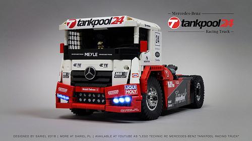Lego Mercedes-Benz RC Truck Tankpool24 BuWizz