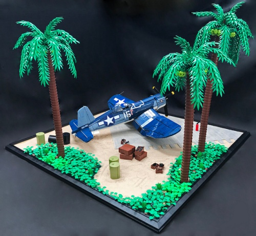 Lego Vought F4U-1A Corsair