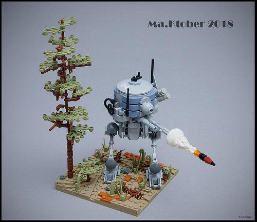 Lego Ma.Ktober Mech