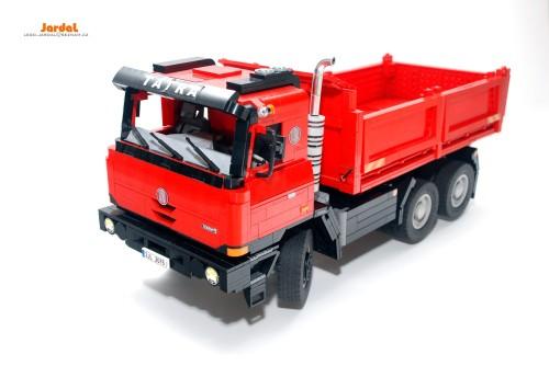 Lego Tatra 815 Tipper Truck