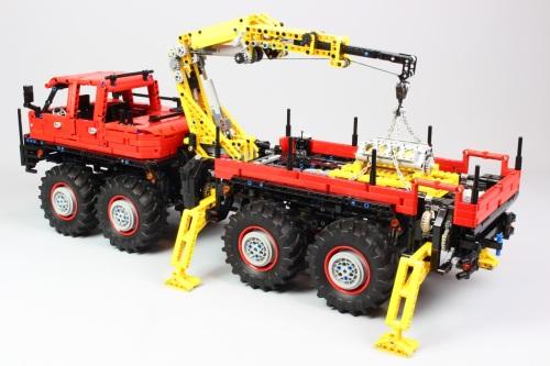 Lego Technic 8x8 Truck RC