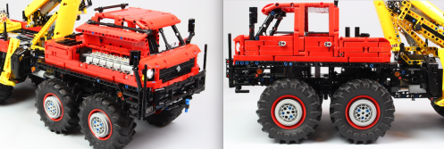 Lego 8x8 Off-Road Truck