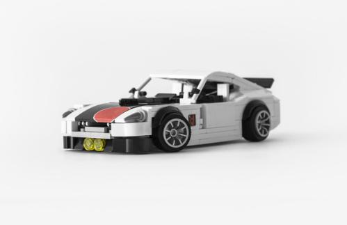 Lego Datsun 240Z LS-Swap