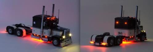 Lego Peterbilt 379 Truck